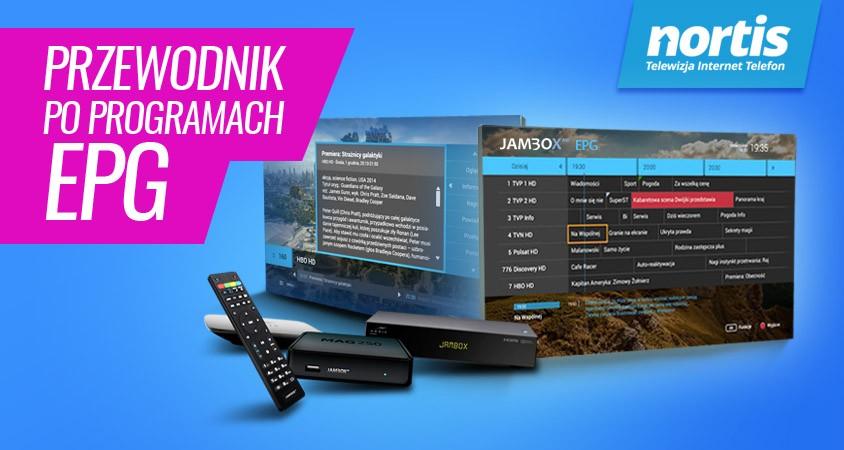 Funkcja EPG w Telewizji JAMBOX