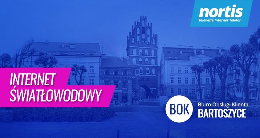 Jak powstał internet światłowodowy w Bartoszycach - Nortis