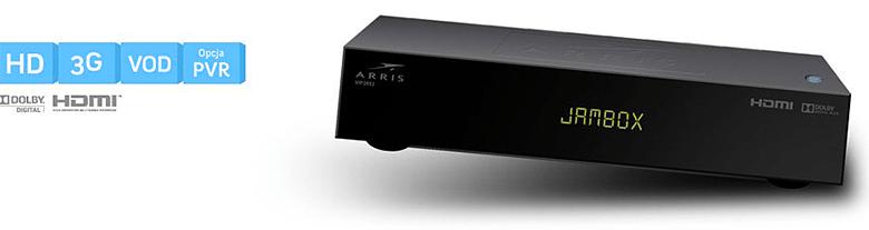 Arris VIP 2853 HD z opcją dysku