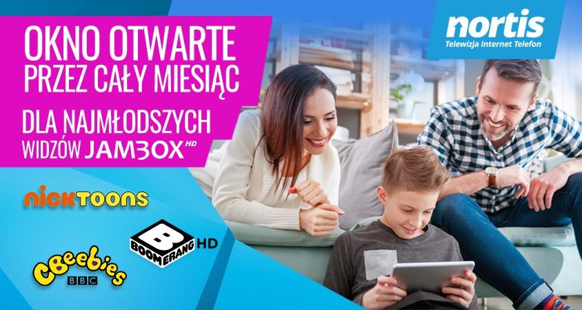 Dzień Dziecka wtelewizji JAMBOX